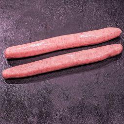 Chipolata de porc & veau par 2 (±140g)