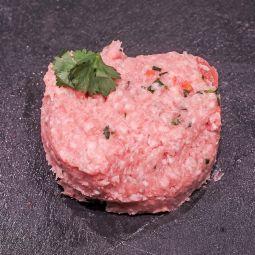 Haché porc/veau prêt à cuire 100g