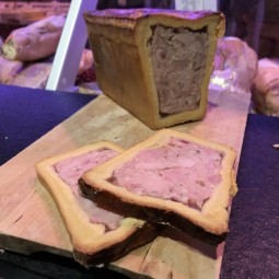Paté en croute aux Riz de veau ±115g