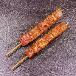 Souvlakis de porc par 2