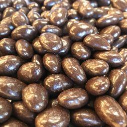 Amandes au Chocolat Noir BIO par 100g