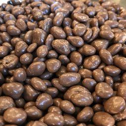 Raisins Chocolat au Lait BIO par 100g