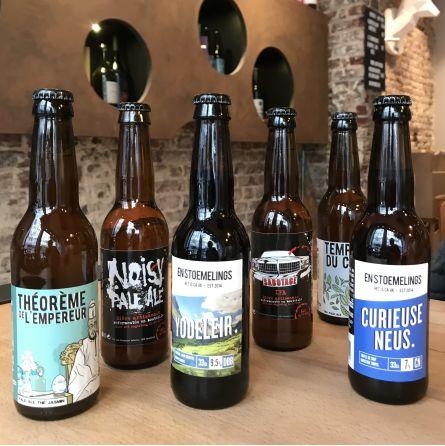 6 Bières artisanales de Bruxelles
