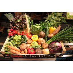 Grand panier de légumes ±12kg  1pc