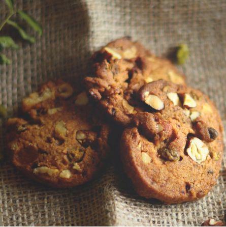 Cookies dattes, fruits secs & miel 115gr