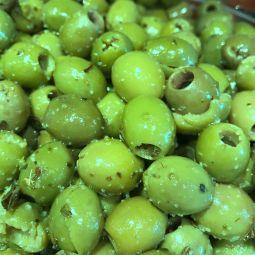 Olives Vertes sans noyaux par 200g