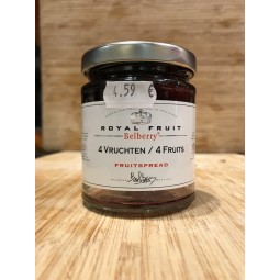 Confiture 4 Fruits Belberry