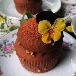 Cupcake caramel noix de Pécan
