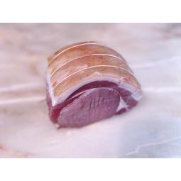 Carré de porc avec couenne