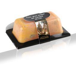 Foie gras entier canard aux figues mi-cuit  ±270g