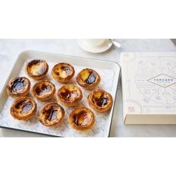 Assortiment de 10 pasteis de nata classique