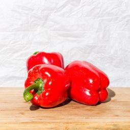 Poivron rouges BIO - 1pc ±299g